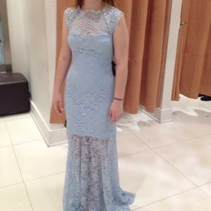 Morgan & Co Light Blue Dress